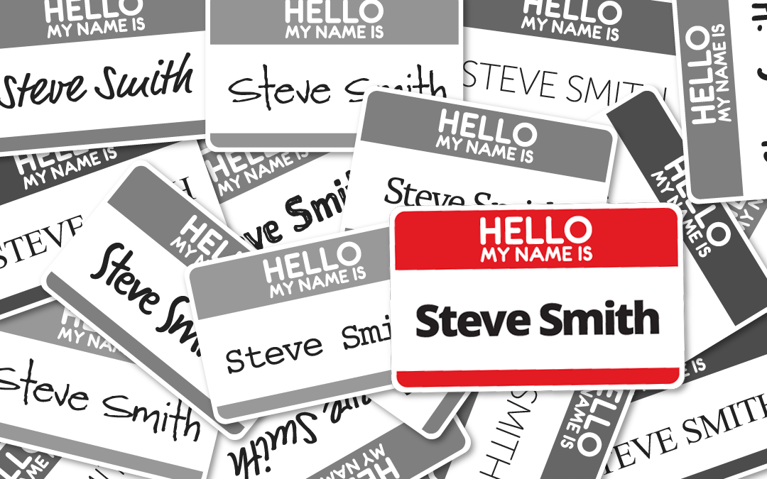 Hello. My Name is Steve Smith.